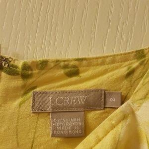 J. Crew Dresses - J crew linen sleeveless summer dress
